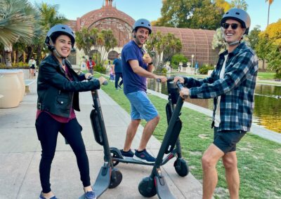 Electric Scooter Rental at Balboa Park